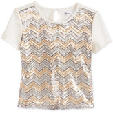 Epic Threads Sequin Top, Big Girls (7-16), Only at Macy's
