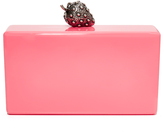 Edie Parker Jean Strawberry Clutch