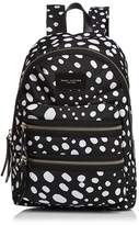 Marc Jacobs Biker Wavy Spot Printed Backpack