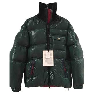 Valextra Moncler Genius Moncler n2 1952 + Green Synthetic Coats