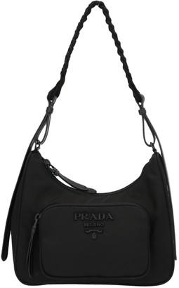 Prada Braided Handle Bag
