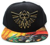 Bioworld Men's Nintendo - The Legend of Zelda Snapback Hat O/S
