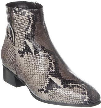 Aquatalia Fuoco Weatherproof Snake-Embossed Leather Boot