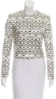 Mary Katrantzou Cropped Silk Jacket