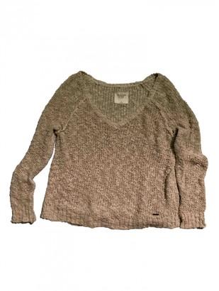 Abercrombie & Fitch Ecru Cotton Knitwear for Women
