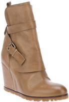 Sartore wedge heel boot