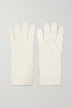 Johnstons of Elgin Cashmere Gloves - Cream