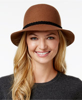 Nine West Braided Band Felt Cloche