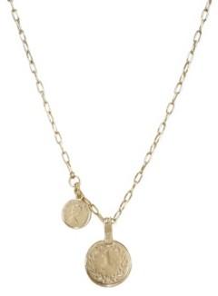 Ettika Simplicity Coin Chain Necklace