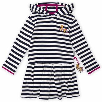 Sigikid Girl's Langarm-Kleid Mit Kapuze Dress