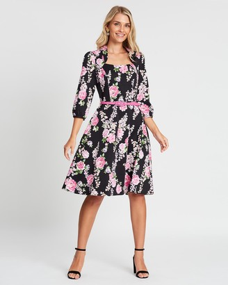 Review Floral Dynasty Dress