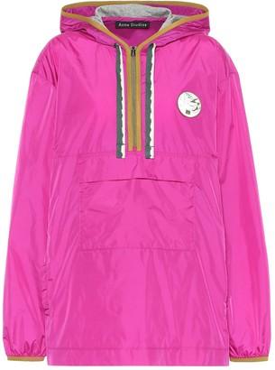 Acne Studios Nylon anorak jacket