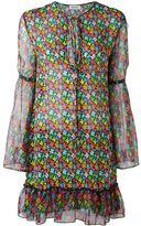 Au Jour Le Jour floral print chiffon dress - women - Polyester/Viscose - 40