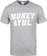 Money Athletic Grey Marl Crew Neck T-shirt