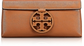 Tory Burch Miller New Cuoio Leather Clutch