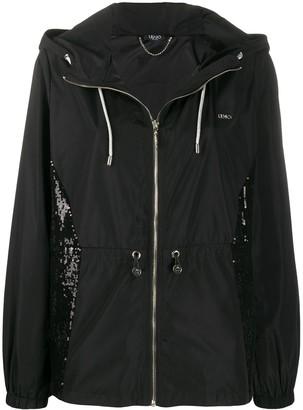 Liu Jo Hooded Zipped Jacket