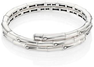 John Hardy Bamboo Small Sterling Silver Coil Bracelet