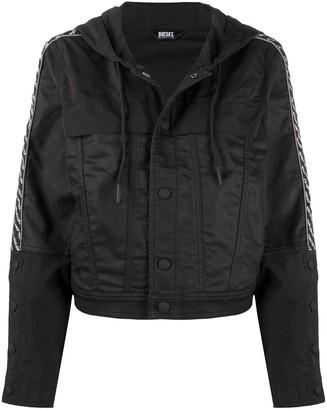 Diesel Drawstring Hooded Jacket