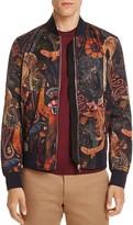 Paul Smith Monkey Print Bomber Jacket