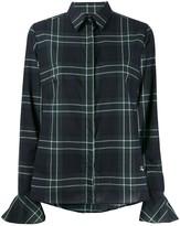 Fay Plaid-Print Slim-Fit Shirt