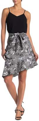 Rachel Roy Collection Bailen Belted Asymmetrical Skirt