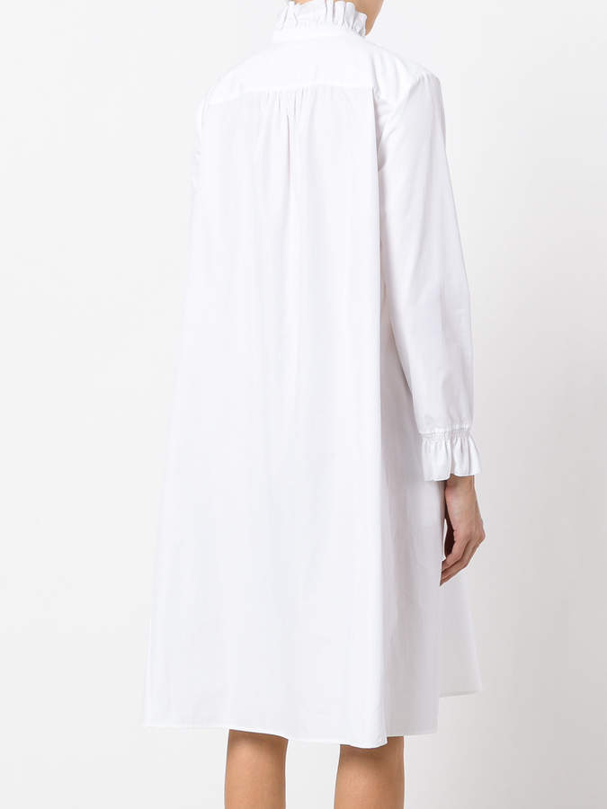 See by Chloe pie crust collar smocked shirt dress