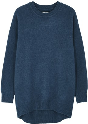 Etoile Isabel Marant Danaelle Dark Blue Wool-blend Jumper