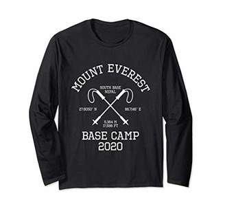 Climbed Base Camp Mount Everest 2020 Hike South Base Nepal Long Sleeve T-Shirt