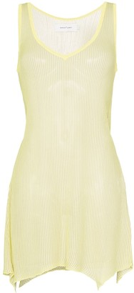 Marques Almeida Marques'Almeida sleeveless knitted dress