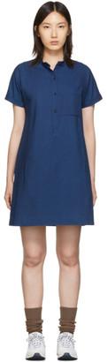 A.P.C. Indigo Temple Dress