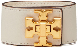 Tory Burch Kira Gold-tone Leather Bracelet