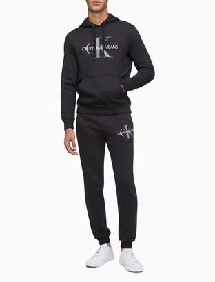 Calvin Klein Monogram Logo Fleece Joggers