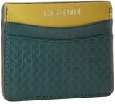Ben Sherman Gingham Emboss Card Holder Credit card Wallet