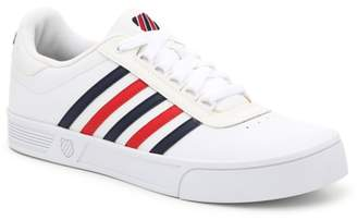 K-Swiss K Swiss Court Lite Stripes Sneaker - Men's