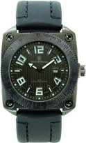 Smith & Wesson Men's SWW-5900-BLK Flight Deck Rubber Strap Watch