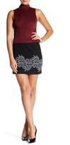 Plenty by Tracy Reese Lace Applique Mini Skirt