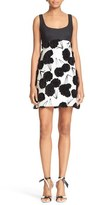 Milly Women's 'Couture Poppy' Fil Coupe Minidress