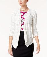 Alfani Draped Asymmetrical Cardigan, Created for Macy's