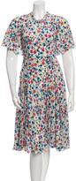 Dolce & Gabbana Floral Silk Dress w/ Tags