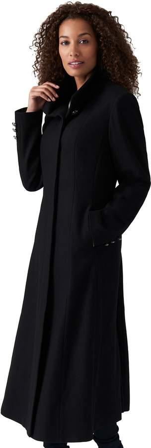 d0f407c1908 Missy Long Wool Blend Princess Coat