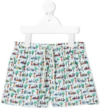 MC2 Saint Barth Beach Print Swim Shorts