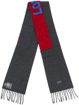 Fendi Love embroidered scarf