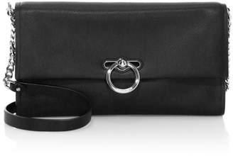 Rebecca Minkoff Jean Leather Convertible Clutch