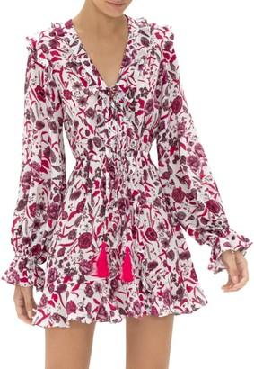Alexis Kosma Ruffle Floral Mini Dress