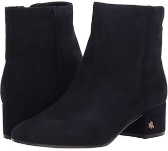 Lauren Ralph Lauren Welford (Lauren Navy Suede) Women's Shoes