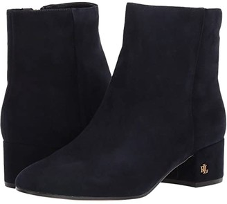 Lauren Ralph Lauren Welford (Lauren Navy Suede) Women's Shoes