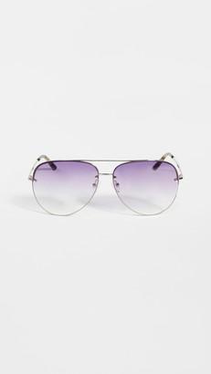 Linda Farrow Luxe Matthew Williamson x Linda Farrow Clover Sunglasses