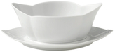 Royal Copenhagen Fluted Gravy Boat with Stand