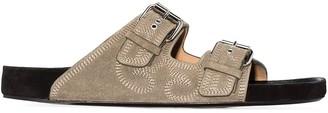 Isabel Marant Lennyo western stitch sandals