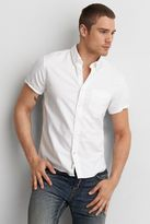 American Eagle Outfitters AE Solid Short Sleeve Shirt